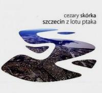 Szczecin z lotu ptaka - okładka książki