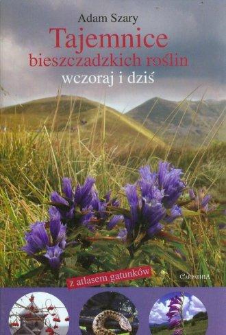 Tajemnica bieszczadzkich roślin - okładka książki