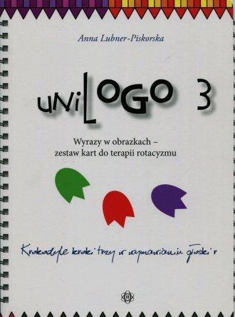 UniLogo 3. Wyrazy w obrazkach - - okładka książki