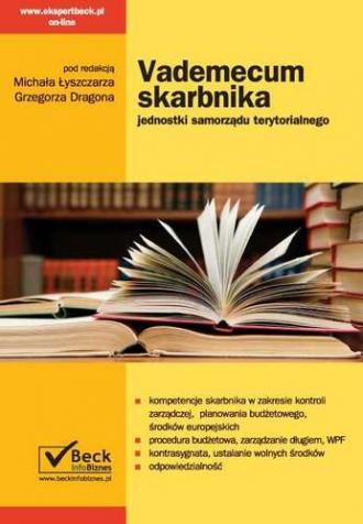 Vademecum skarbnika jednostki samorządu - okładka książki