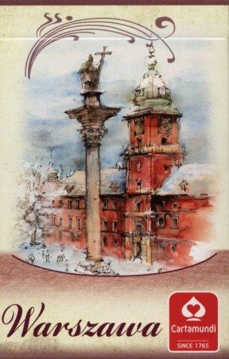 Warszawa - akwarele (talia 55 listków) - zdjęcie zabawki, gry