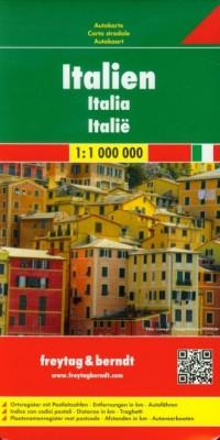 Włochy mapa drogowa (skala 1: 1 - okładka książki