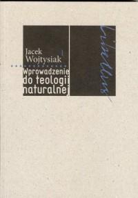 Wprowadzenie do teologii naturalnej - okładka książki