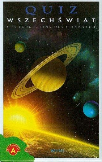 Wszechświat. Quiz mini - zdjęcie zabawki, gry