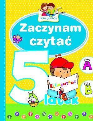 Zaczynam czytać 5-latek. Mali geniusze - okładka książki