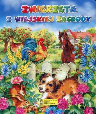 Zwierzęta z wiejskiej zagrody - okładka książki
