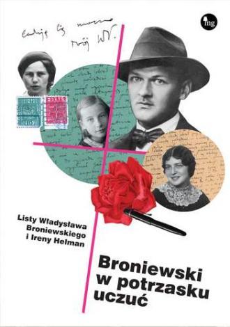 Broniewski w potrzasku uczuć - okładka książki