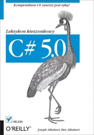 C# 5.0. Leksykon kieszonkowy - okładka książki