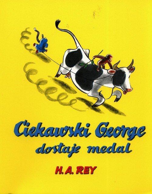 Ciekawski George dostaje medal - okładka książki