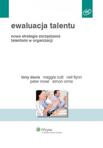 Ewaluacja talentu. Nowa strategia - okładka książki