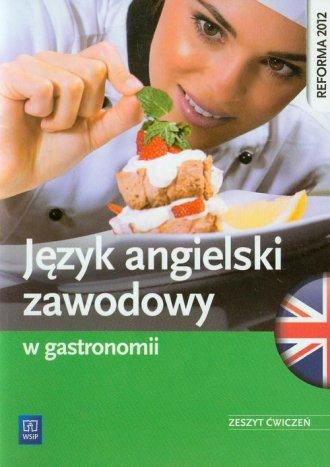 Język angielski zawodowy w gastronomii. - okładka podręcznika