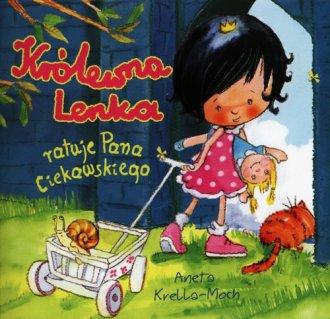 Królewna Lenka ratuje Pana Ciekawskiego - okładka książki