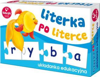 Literka po literce - zdjęcie zabawki, gry