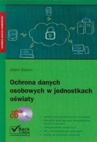 Ochrona danych osobowych w jednostkach - okładka książki