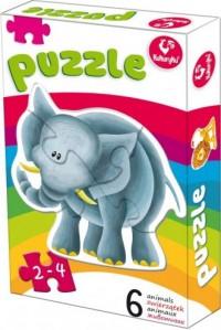 Pierwsze puzzle. Zwierzątka 2 - zdjęcie zabawki, gry