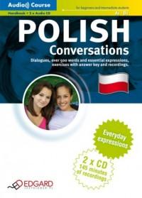 Polski. Konwersacje A1-B1 (+ CD) - okładka podręcznika