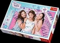 Violetta i przyjaciółki (puzzle - 160 elem.) - zdjęcie zabawki, gry