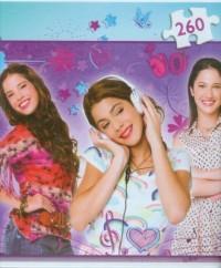 Violetta i przyjaciółki (puzzle - 260 elem.) - zdjęcie zabawki, gry