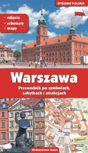 Warszawa. Przewodnik po symbolach, - okładka książki