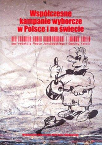 Współczesne kampanie wyborcze w - okładka książki