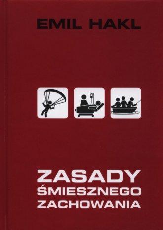 Zasady śmiesznego zachowania - okładka książki