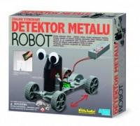 Zdalnie sterowany detektor metalu - robot - zdjęcie zabawki, gry