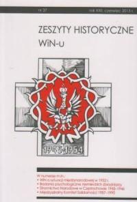 Zeszyty Historyczne Win-u nr 37 (czerwiec 2013) - okładka książki