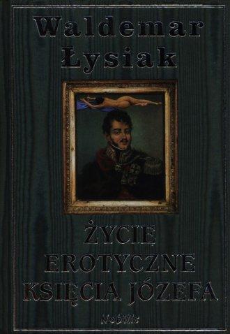 Życie erotyczne księcia Józefa - okładka książki