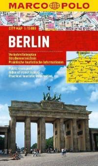 Berlin. Plan miasta  (skala 1: 15 000) - okładka książki