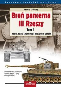 Broń pancerna III Rzeszy. Tom 1. - okładka książki