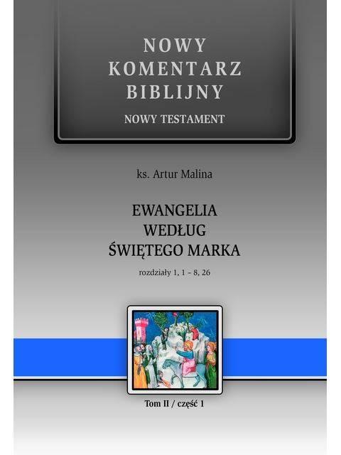 Ewangelia według św. Marka. Rozdziały - okładka książki