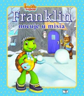 Franklin nocuje u misia - okładka książki