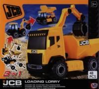 JCB. Ciężarówka do skręcania - zdjęcie zabawki, gry