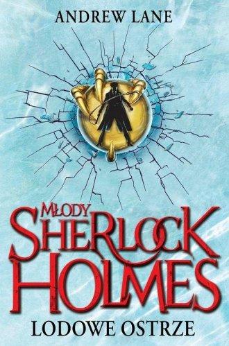 Młody Sherlock Holmes. Lodowe ostrze - okładka książki