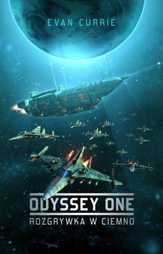Odyssey One. Rozgrywka w ciemno - okładka książki