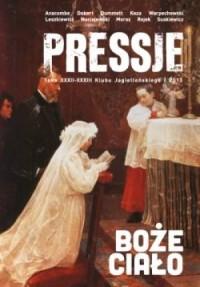 Pressje (32-33) Boże Ciało: Boska prowokacja - okładka książki