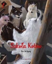 Szkoła Kotów - okładka książki