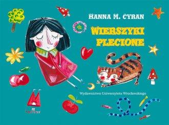 Wierszyki plecione - okładka książki