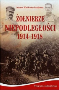 Żołnierze Niepodległości 1914-1918 - okładka książki