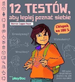 12 testów aby lepiej poznać siebie. - okładka książki