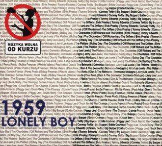 1959 Lonely boy - okładka płyty