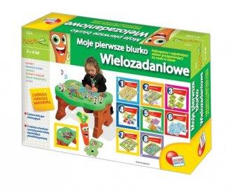 zabawka, gra -  Moje pierwsze biurko wielozadaniowe - Wydawnictwo Liscianigiochi