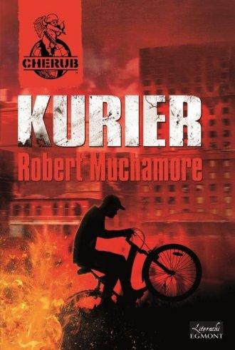 ksi��ka -  Cherub. Kurier - Robert Muchamore