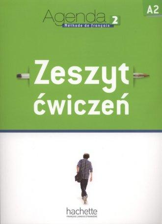 Agenda 2. Język francuski. Zeszyt - okładka podręcznika