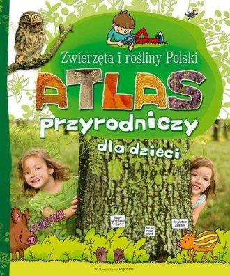 Atlas przyrodniczy dla dzieci. - okładka książki