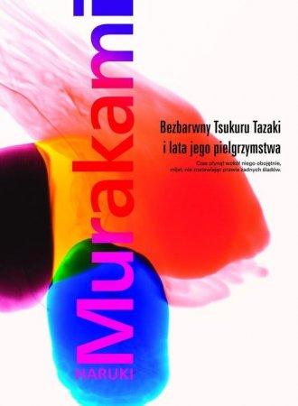 Bezbarwny Tsukuru Tazaki i lata - okładka książki