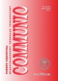 Communio nr 3(183)/2013. Powrót Chrystusa - okładka książki