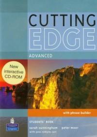 Cutting Edge Advanced Students Bokk (+ CD-ROM) - okładka podręcznika