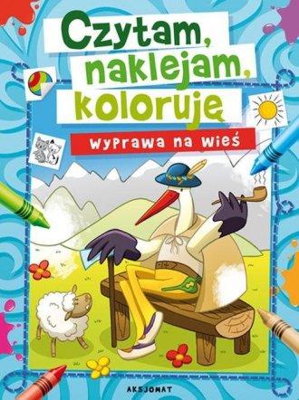Czytam, naklejam, koloruję. Wyprawa - okładka książki