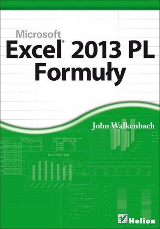 Excel 2013 PL. Formuły - okładka książki